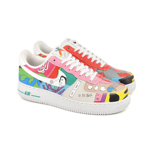 Nike x Ruohan Wang Air Force 1 QS FlyLeather Multi CZ3990-900