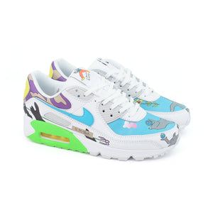 Nike x Ruohan Wang Air Max 90 QS FlyLeather Multi CZ3992-900