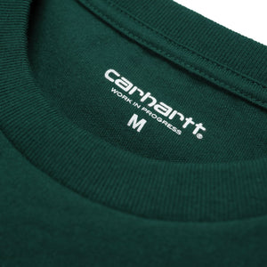 Carhartt Chase Tee Dark Fir/Gold