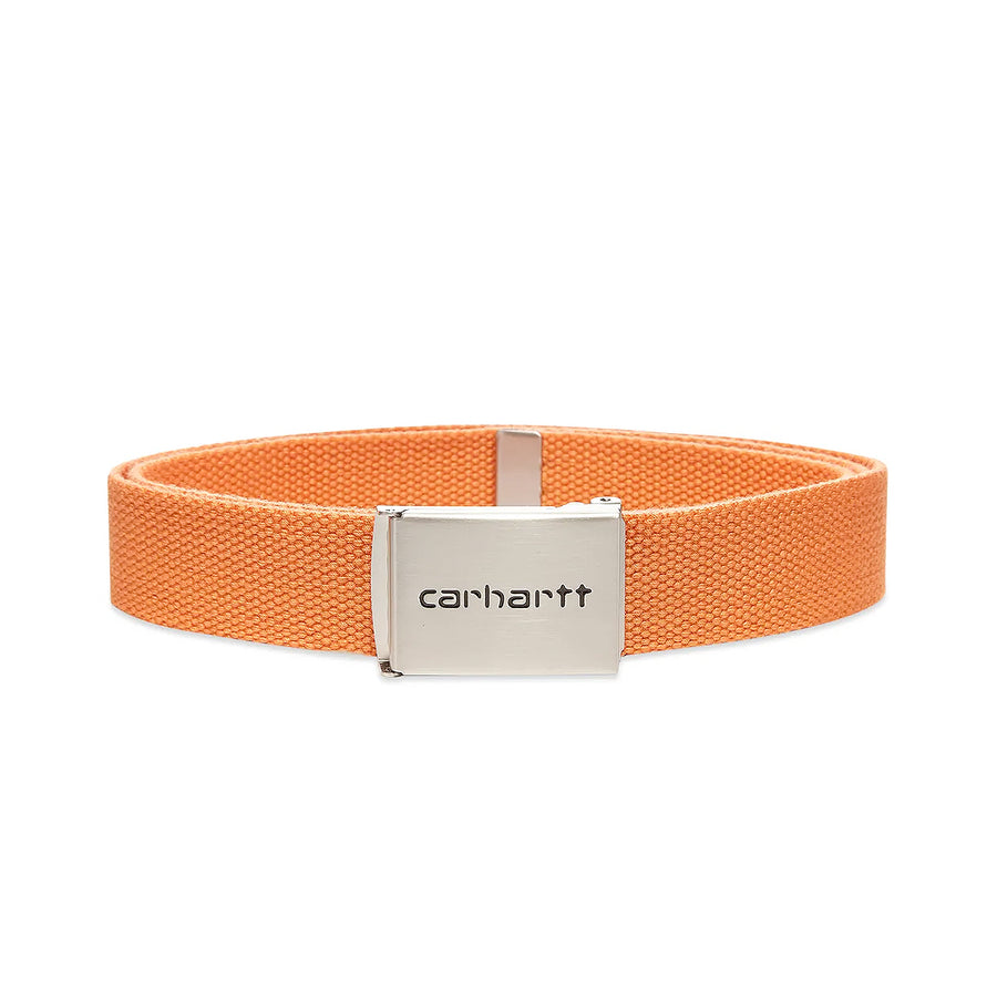Carhartt Clip Belt Chrome Clockwork
