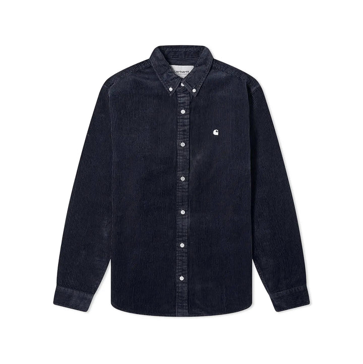 Carhartt Madison Cord Shirt Dark Navy/Wax