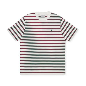 Carhartt Oakland Stripe Tee Wax/Treehouse