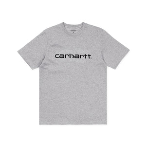 Carhartt Script Tee Grey Heather/Black