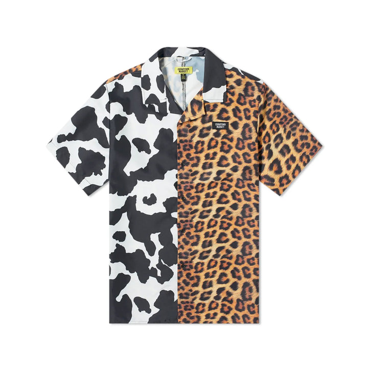 Chinatown Market All Over Animal Print Woven Shirt Multi