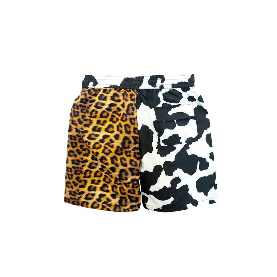 Chinatown Market All Over Animal Print Shorts Multi