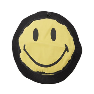 Chinatown Market Smiley Bucket Hat Black
