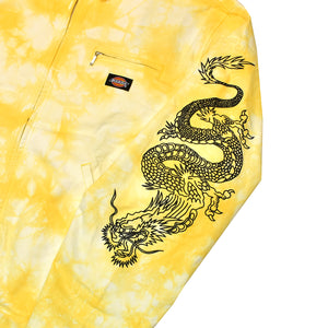 Clot x Dickies Dragon Tie Dye Work Jacket Yellow