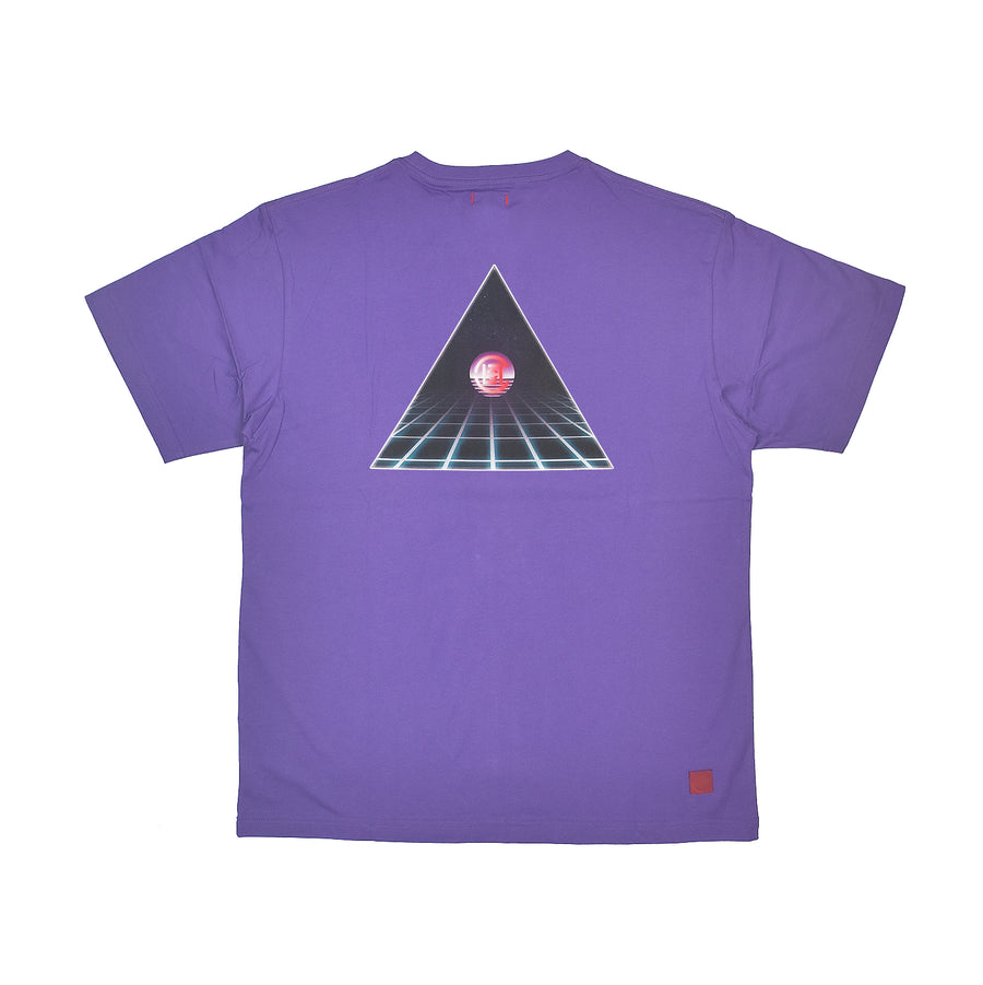 Clot Dimension Tee Purple