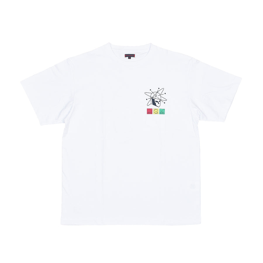 Clot Planets Tee White