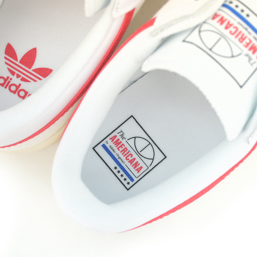 Adidas Americana Low White/Red EF6385