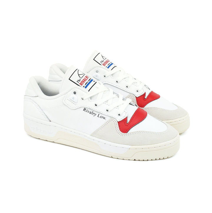 Adidas Rivalry Low White/Red EF6418