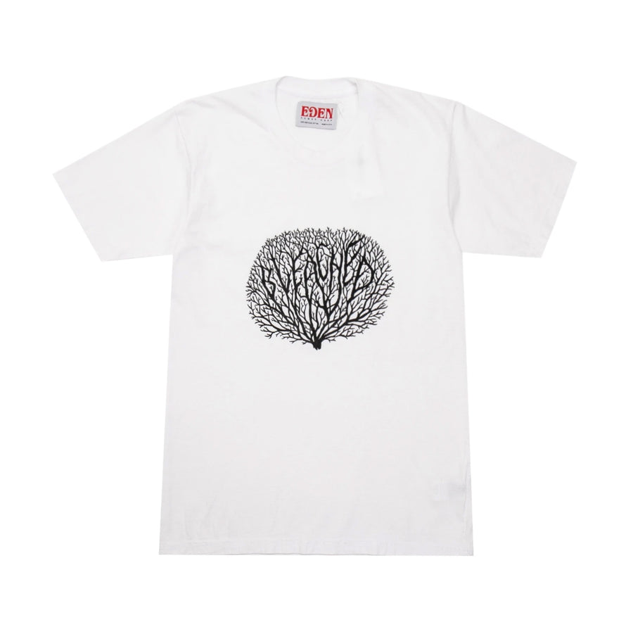 EDEN Power Corp Bleached Coral Tee White