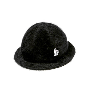 Fxxking Rabbits Bermuda Fur Hat Black