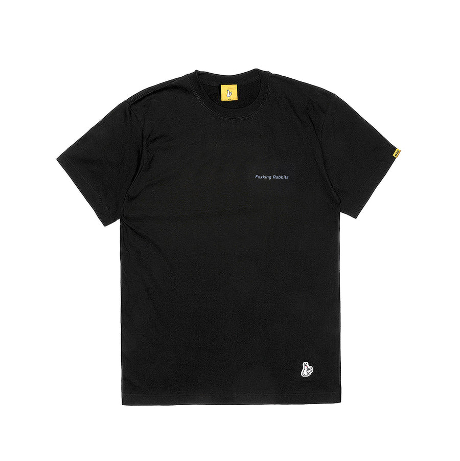 Fxxking Rabbits Why Look So Different Tee Black