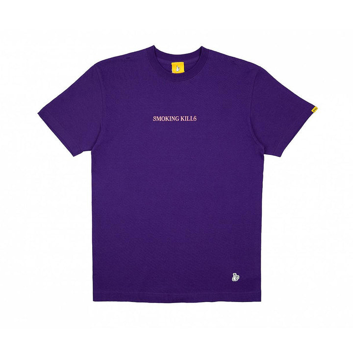 Fxxking Rabbits Please Stop Killing Yourself Tee Purple