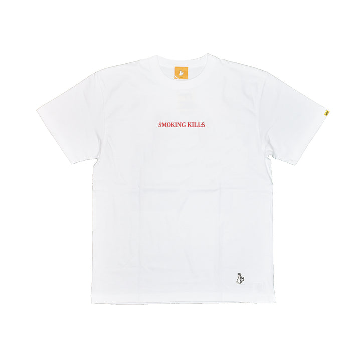 Fxxking Rabbits Please Stop Killing Yourself Tee White