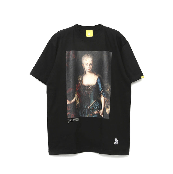 Fxxking Rabbits The Empress Tee Black