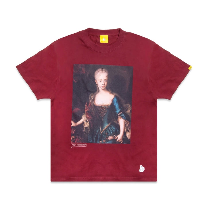 Fxxking Rabbits The Empress Tee Burgundy