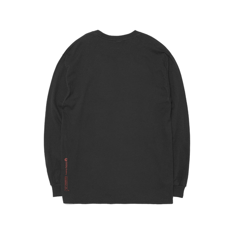 Fxxking Rabbits The Zombie L/S Tee Black
