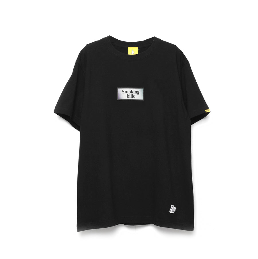 Fxxking Rabbits Ukiyo-e Smoking Kills Tee Black