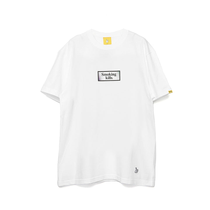 Fxxking Rabbits Ukiyo-e Smoking Kills Tee White