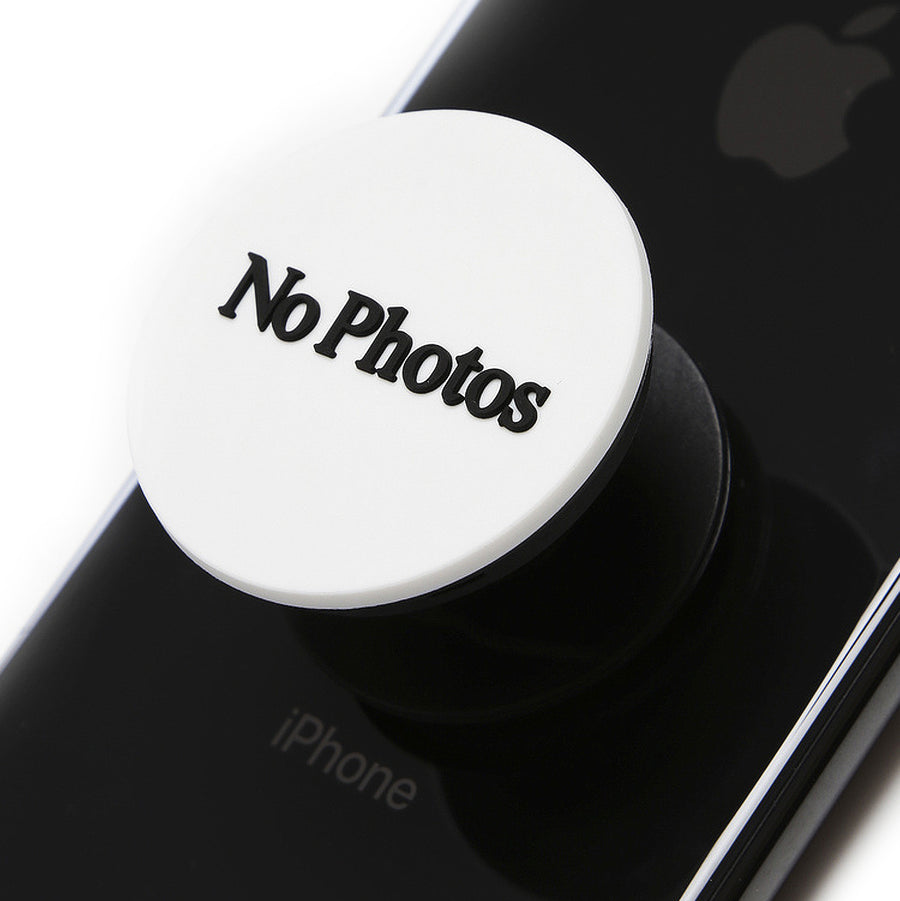 Fxxking Rabbits No Photos Phone Grip Socket White
