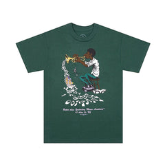 The Good Company Music Academy Tee Forest Green/Multi