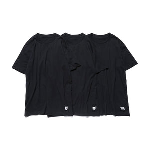 Human Made Tee 3Pack Black