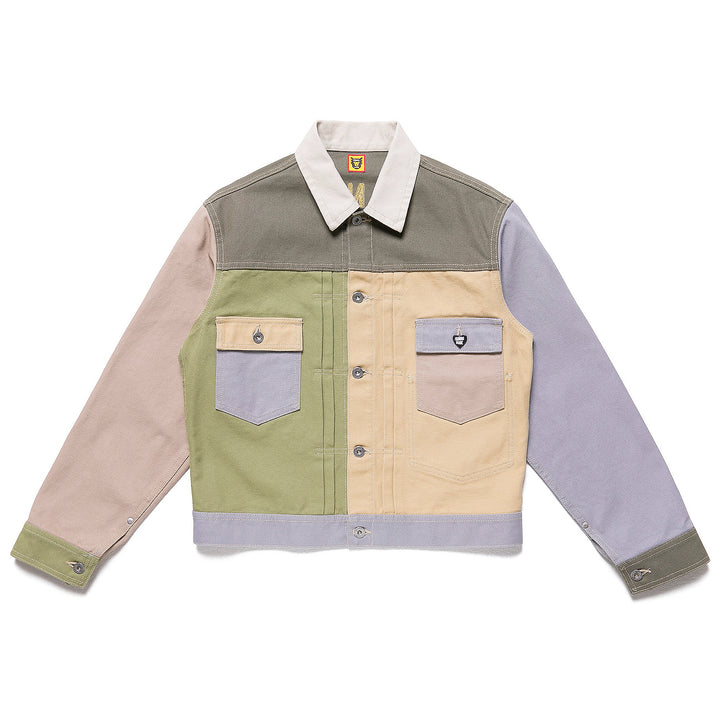 Human Made Crazy Work Jacket Beige/Multi