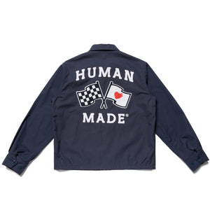 Human Made Drizzler Flag Jacket Navy