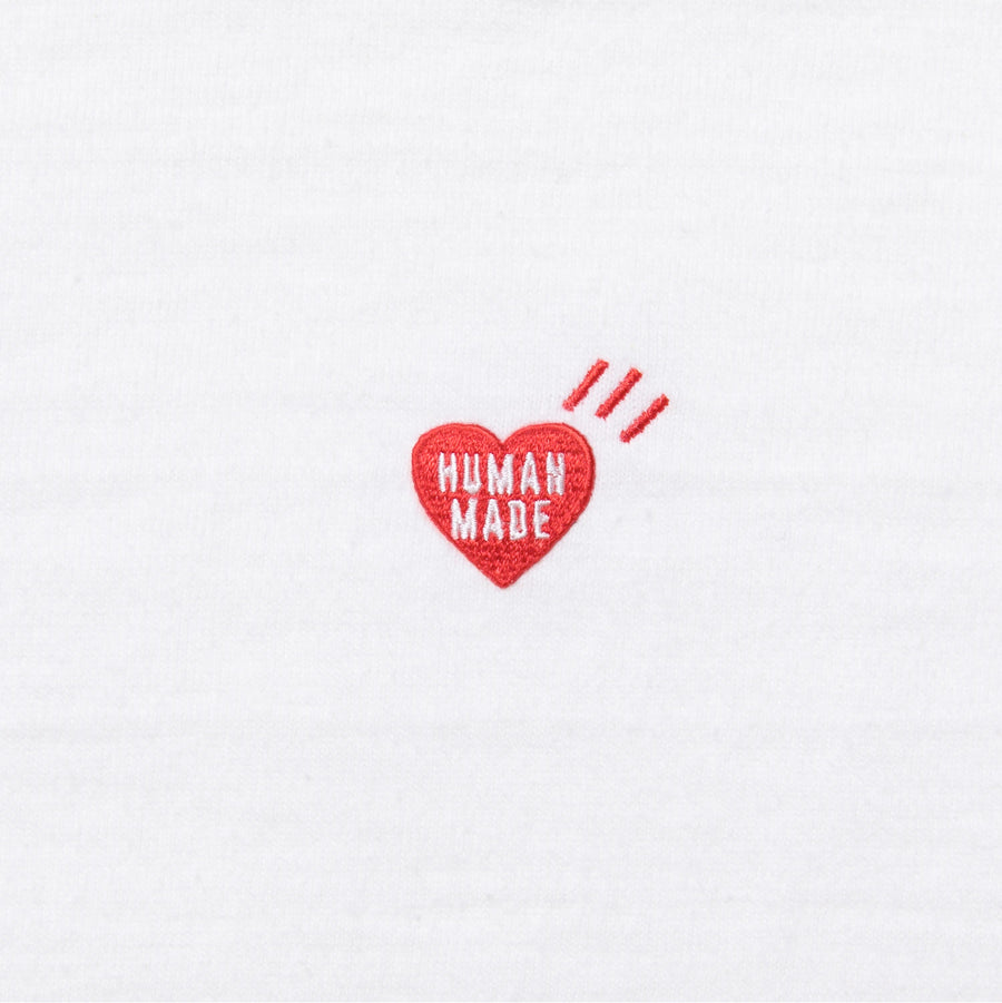 Human Made Heart One Point Tee White