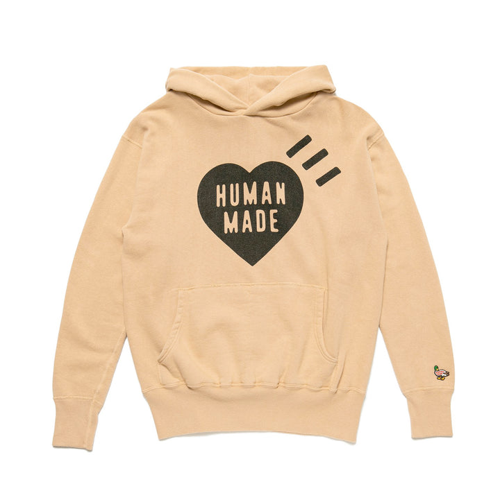 Human Made Hooded Sweatshirt Cream