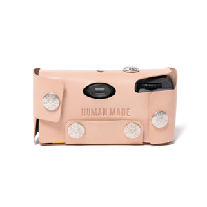 Human Made Leather Camera Case #F Beige