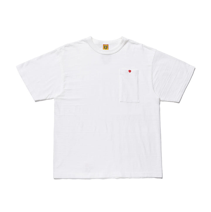 Human Made Long Pocket Tee White