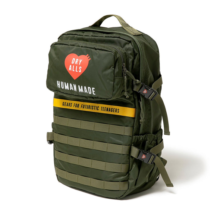 Human Made Military Backpack Olive Drab
