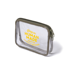 Human Made Large PVC Pouch Olive Drab