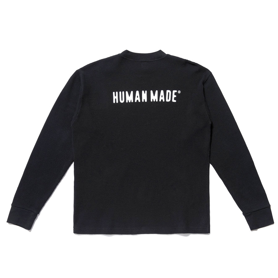 Human Made Thermal L/S Tee Black