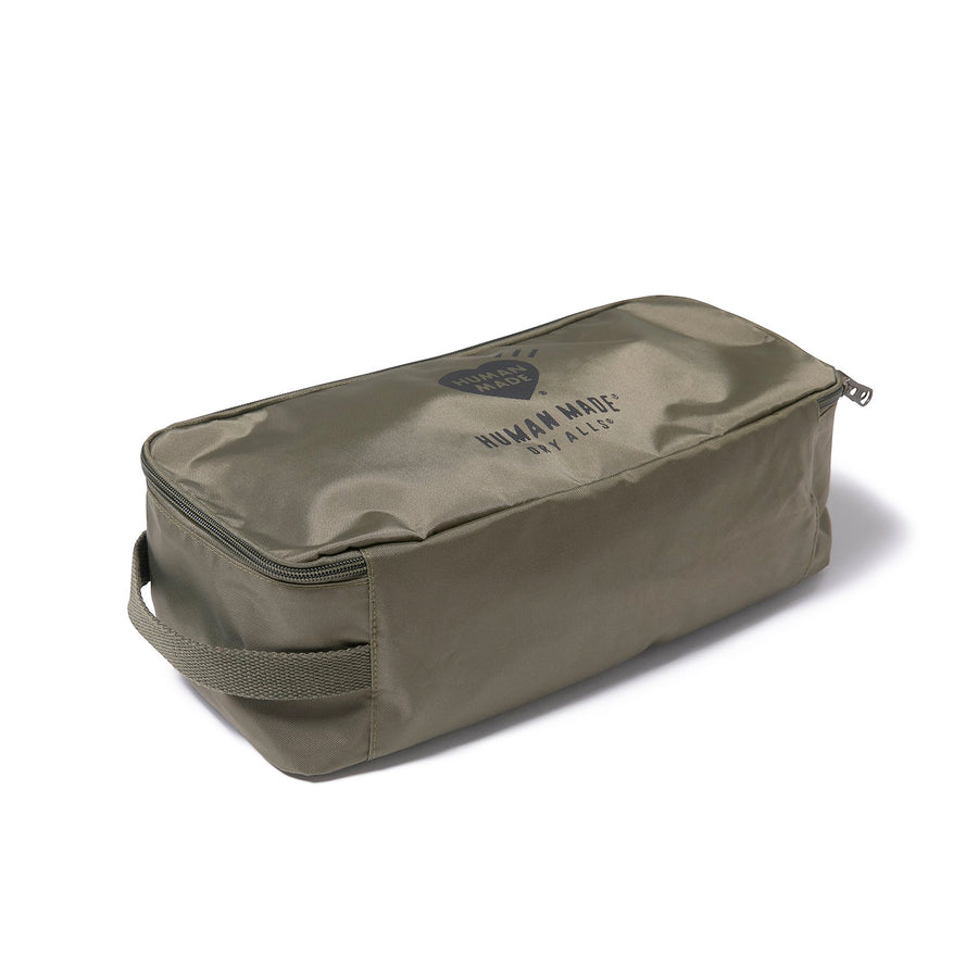 Human Made Small Travel Case Olive Drab