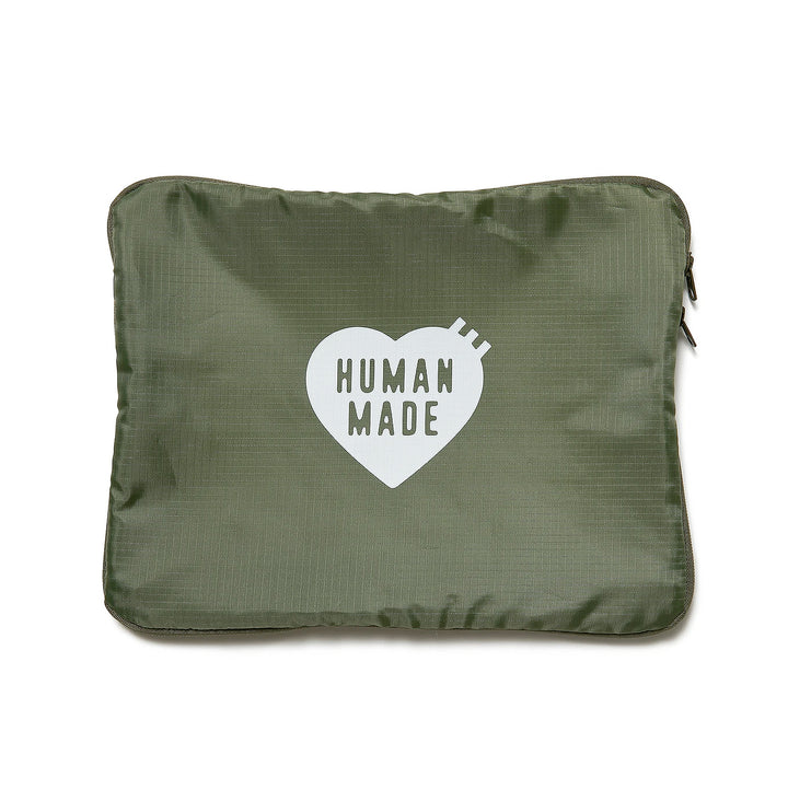 Human Made Large Travel Pouch Olive Drab