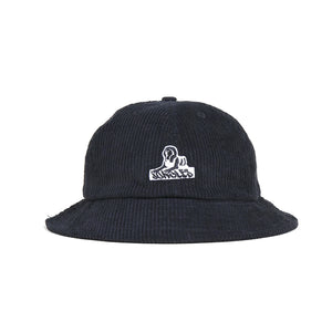 Jungles Sphinx Logo Corduroy Bucket Hat Black