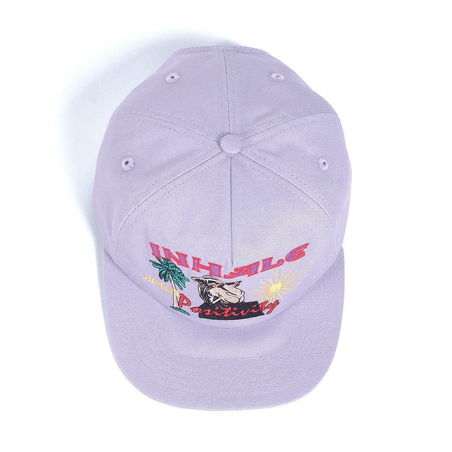 Jungles Inhale Cap Dusty Purple
