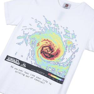 Jungles Spiralling Out Of Controll Tee White