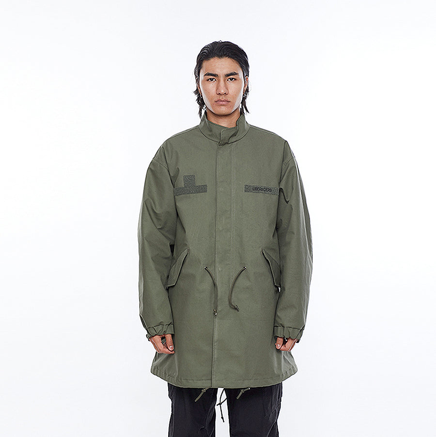 Liberaiders 3 Layer Fishtail Coat Olive