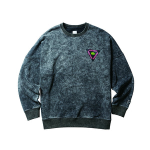 Liberaiders Acid Wash Crewneck Black
