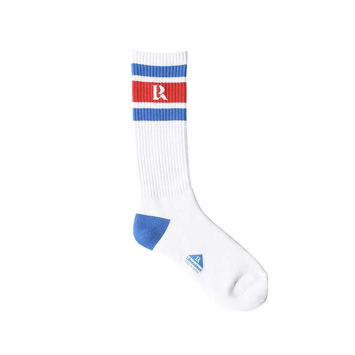 Liberaiders LR Logo Crew Socks White/Blue/Red