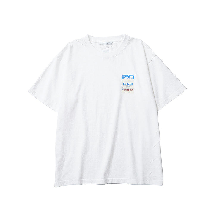 Liberaiders Luggage Tag Tee White