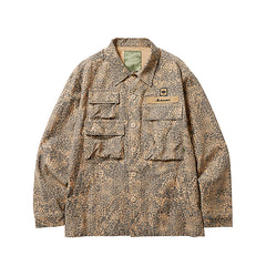 Liberaiders Multi Pocket Field Jacket Beige Camo