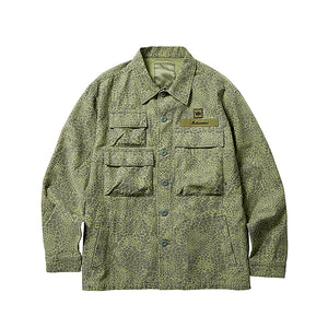 Liberaiders Multi Pocket Field Jacket Olive Camo