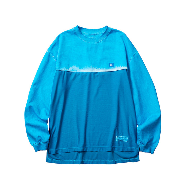 Liberaiders Overdyed Mesh L/S Tee Blue