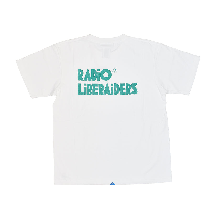 Liberaiders Radio Liberaiders Tee White